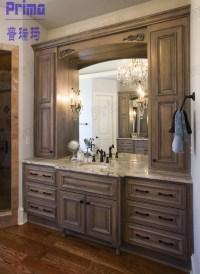 Used Bathroom Vanity Cabinets White Mdf Bathroom Cabinet ...