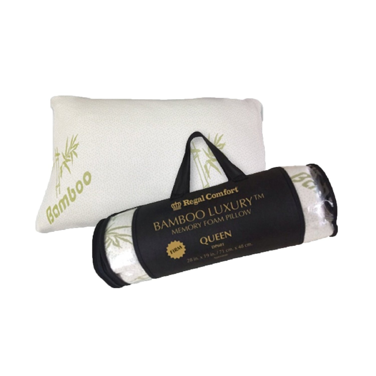 Firm Memory Foam Pillow Buy Luxury Firm Organic Comfort Bamboo Memory Foam Pillow Set Of