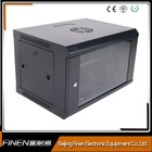 OEM Factory 19 inch wall mounted network data cabinet 6u cabinet