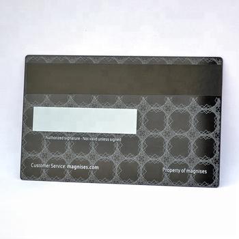 Blank Visa Credit Cards/membership Card