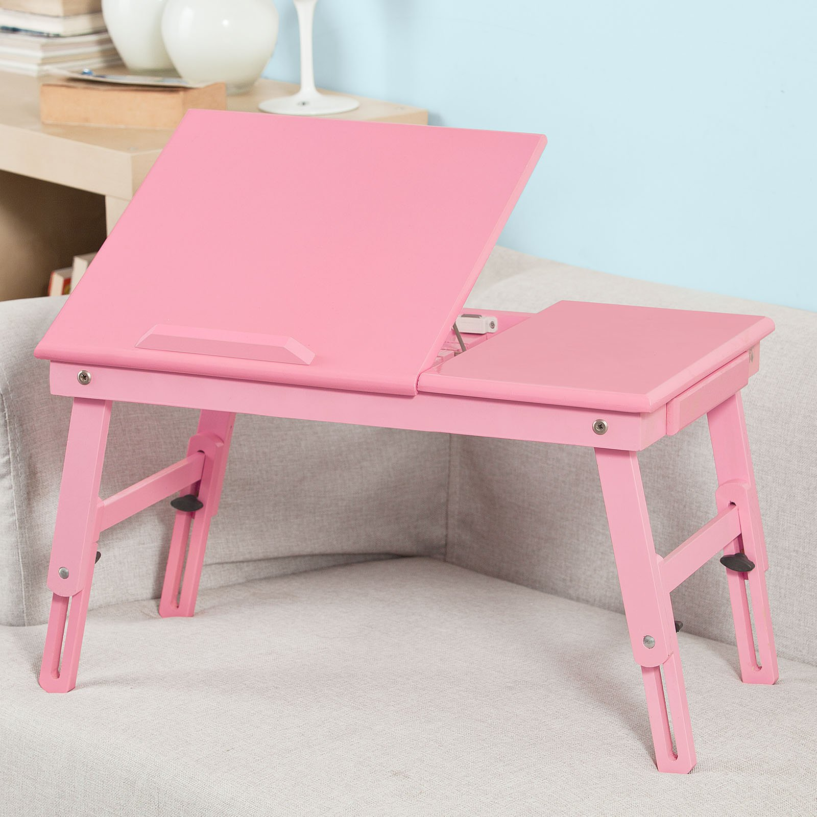Sobuy Shop Buy Sobuy Wood Foldable Notebook Laptop Table Folding Food Bed Lap