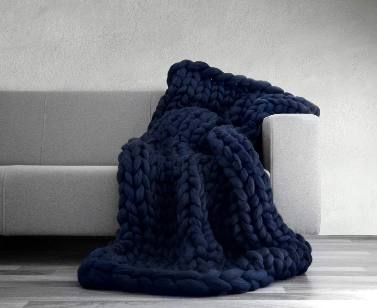 Sofa Throws Knitted Cheap Blue Knitted Throw Find Blue Knitted Throw Deals On Line At