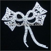 Elegant Rhinestone Bridal Trimmings And Lace Applique For ...