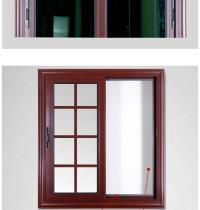Rogenilan 88# Wooden Color Aluminium Design Steel Window ...