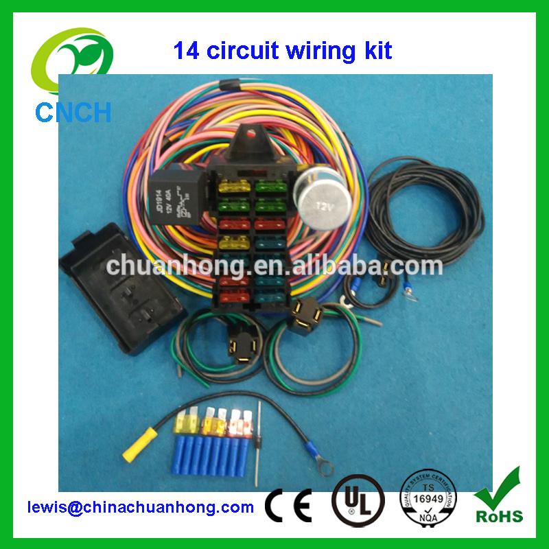 Street Rod Fuse Box Wiring Diagram