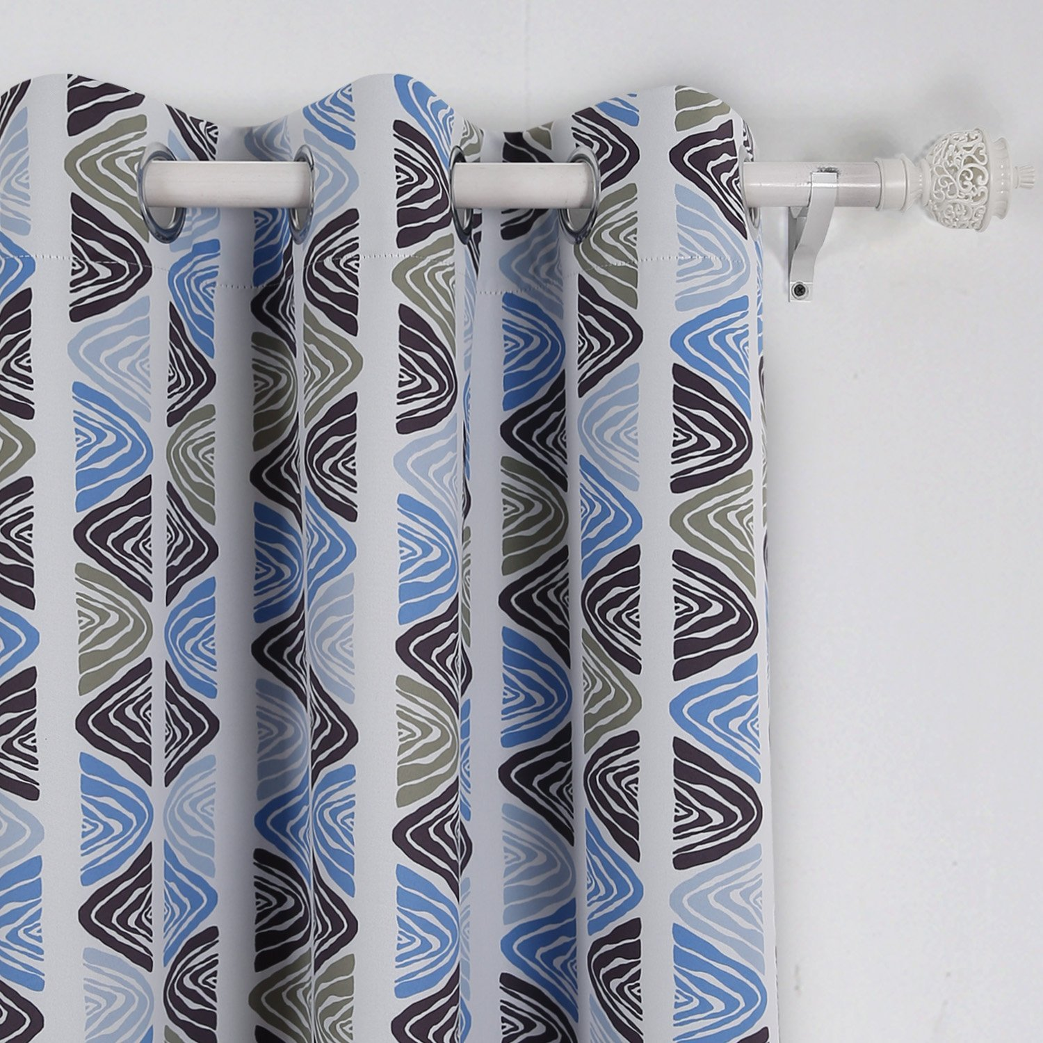 Dark Blue And Grey Curtains Cheap Blue Grey Curtains Find Blue Grey Curtains Deals On Line At