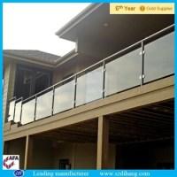 Exterior Glass Railing,Roof Deck Railing/garden Stair