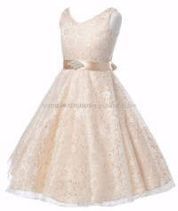 Little Flower Girls Dresses For Weddings Baby Party Frocks