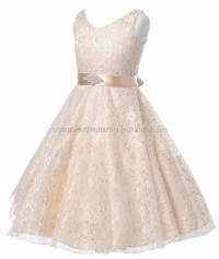 Little Flower Girls Dresses For Weddings Baby Party Frocks ...