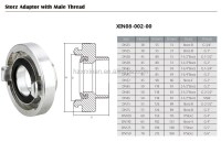 Types Of Fire Hose Coupling Adaptor - Buy Storz Fire Hose ...