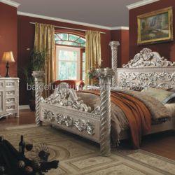 F 8008 Hot Sale King Bedroom Furniture Luxurious Bed Design