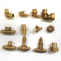 Spanish Style Cn602n 16mm Brass Tee Pipe Connector ...