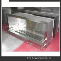 Stainless Steel Ethanol Fireplace Frame Insert - Buy ...