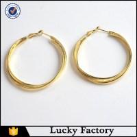 Fashion Jewelry Self Piercing Hoop Earrings Imitation ...