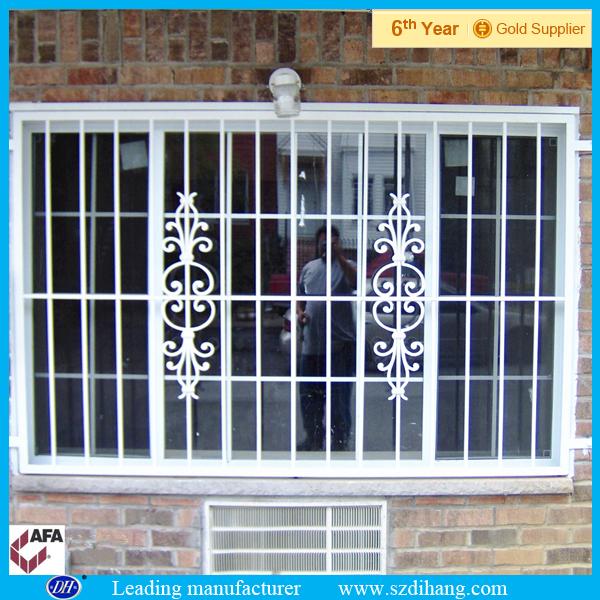 Window Steel Grill Design / Simple Steel Window Grill
