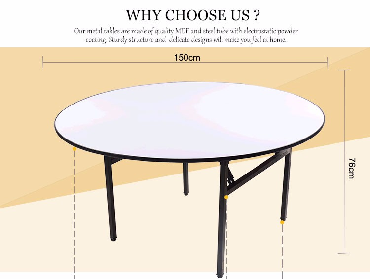 White Round Cheap Card Tables And Chairs Banquet Tables