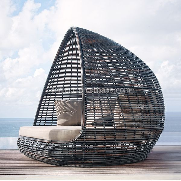 Mobilier De Jardin Pas Cher Home Patio Beach Thick Rattan Material Pyamidal Cocoon