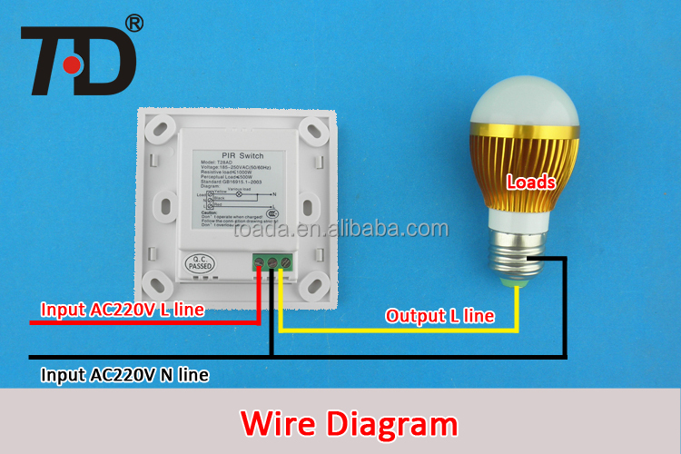 Wiring Diagram Sensor Light Switch How to install an occupancy