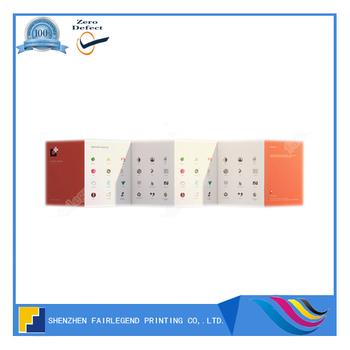 Custom Design Printing Accordion Fold Brochure - Buy Accordion Fold - accordion fold brochure
