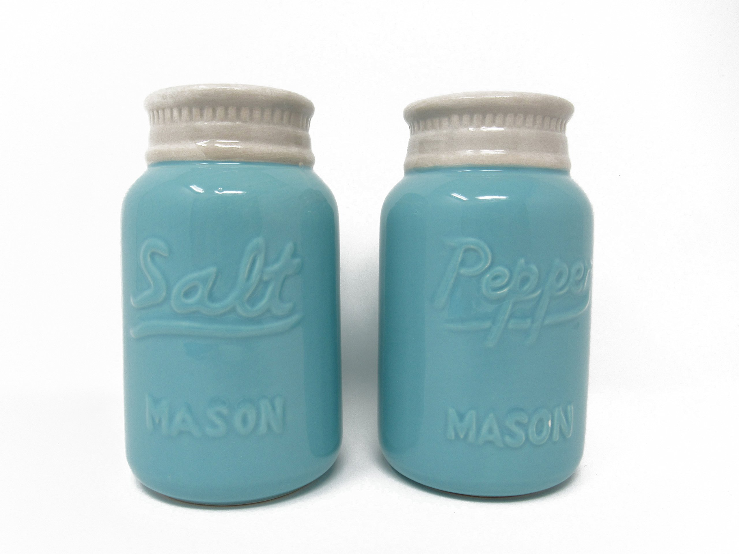 Modern Salt Pepper Shakers Mason Jar Salt And Pepper Shakers Vintage Large 8 Oz Set Of 2 Premium Quality Retro Modern Shabby Chic Unique Rustic Home Décor Cute
