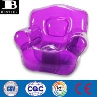 Promotional Custom Pvc Inflatable Purple Bubble Chair ...