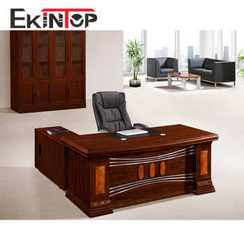 Office Furniture Round Edge Mdf Paper Catalogue Table In Bangladesh