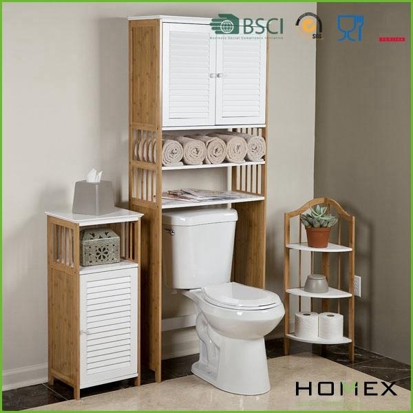 Badezimmer Regal über Toilette