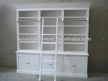 French Antique White Reclaim Wood Bookcase Buy Antique