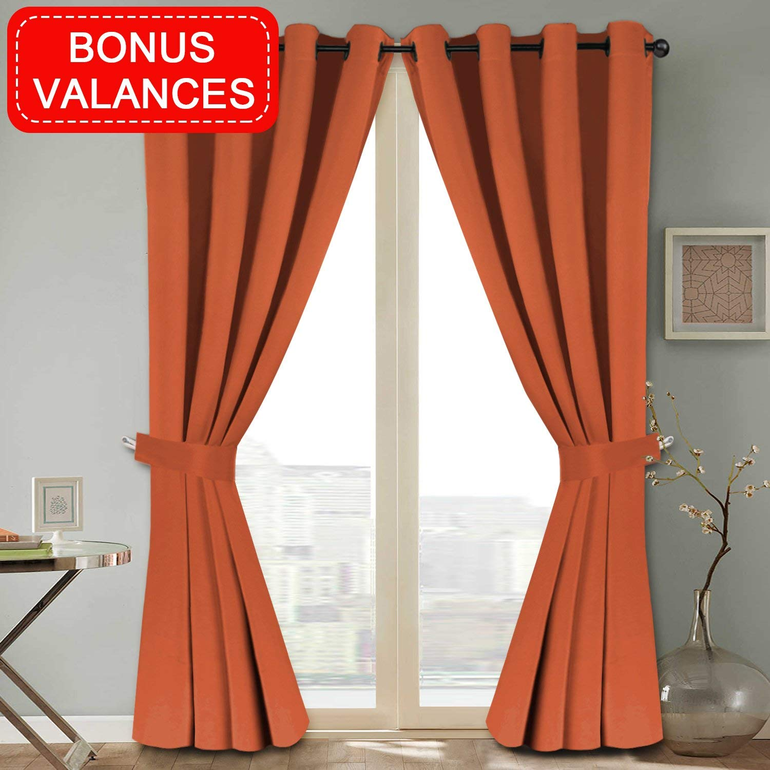 Orange Curtain Panels Cheap Burnt Orange Curtain Panels Find Burnt Orange Curtain