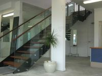 Classic Straight Staircase/modern Design Steel Structure ...
