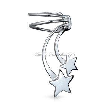 Gemnel Jewelry 925 Sterling Silver Shooting Start