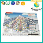 digital printing microfiber map, fabric map, cleaning cloth with map printing