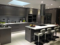 Modern high gloss kitchen furniture ,white luxury modern ...