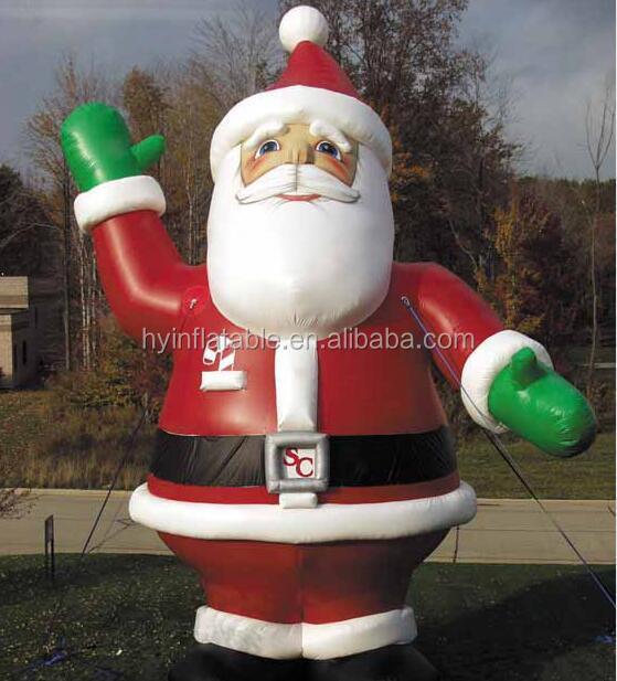 Inflatable Western Christmas Decorations Santa, Inflatable Western - western christmas decorations