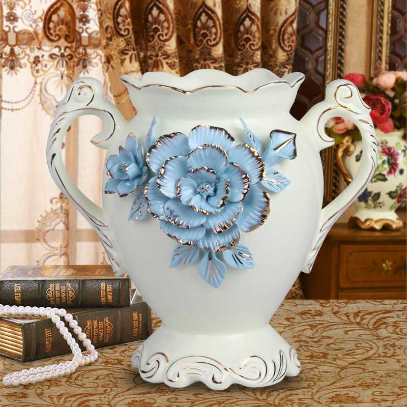 Wholesale Royal Home Decor Ceramic Amphora Vase,Handmade - Buy - royal home decor