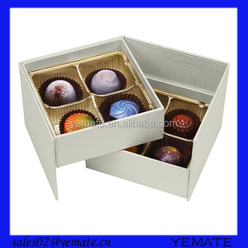 Luxury Drawer Style Cardboard Chocolate Packaging Box Design