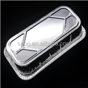 Hot sale Large aluminum foil food container for daily use(SGS,FDA,BV)