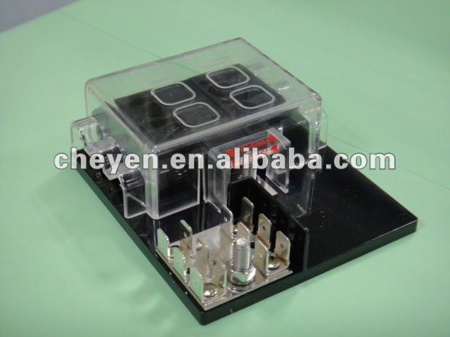 Blade Fuse Panel (fuse Boxes) With Grounding Pads - Buy Fuse Block