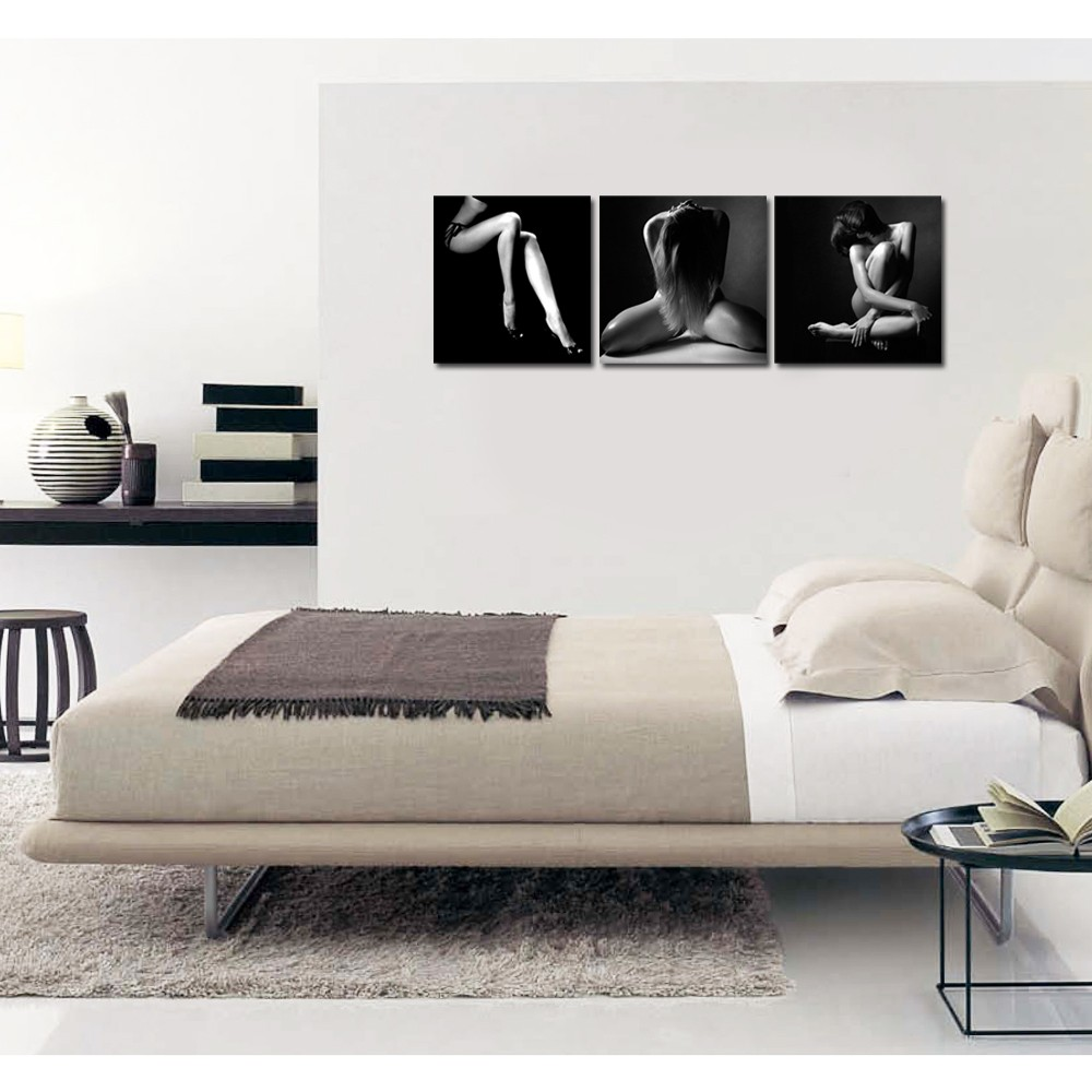 Black And White Artwork For Bedroom Home Decor Black And White Poster Nude Women Canvas Prints Sexy Girl Canvas Artwork For Bedroom Buy Black And White Poster Nudewomen Canvas