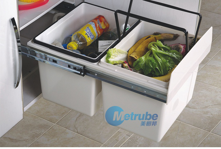 Plastic Recycle Waste Bin For Kitchen Cabinet Buy