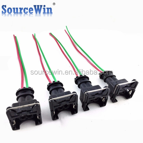Obd1 Gm Fuel Injector Wiring Harness Plug Clips Ev1 Pigtail