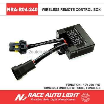Ip68 Offroad Wiring Harness Kit Remote Control For Led Light Bar