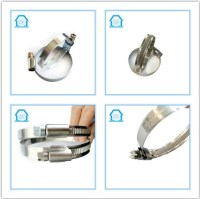 180-200mm Zebra Hose Clamps German Type Stainless Steel ...