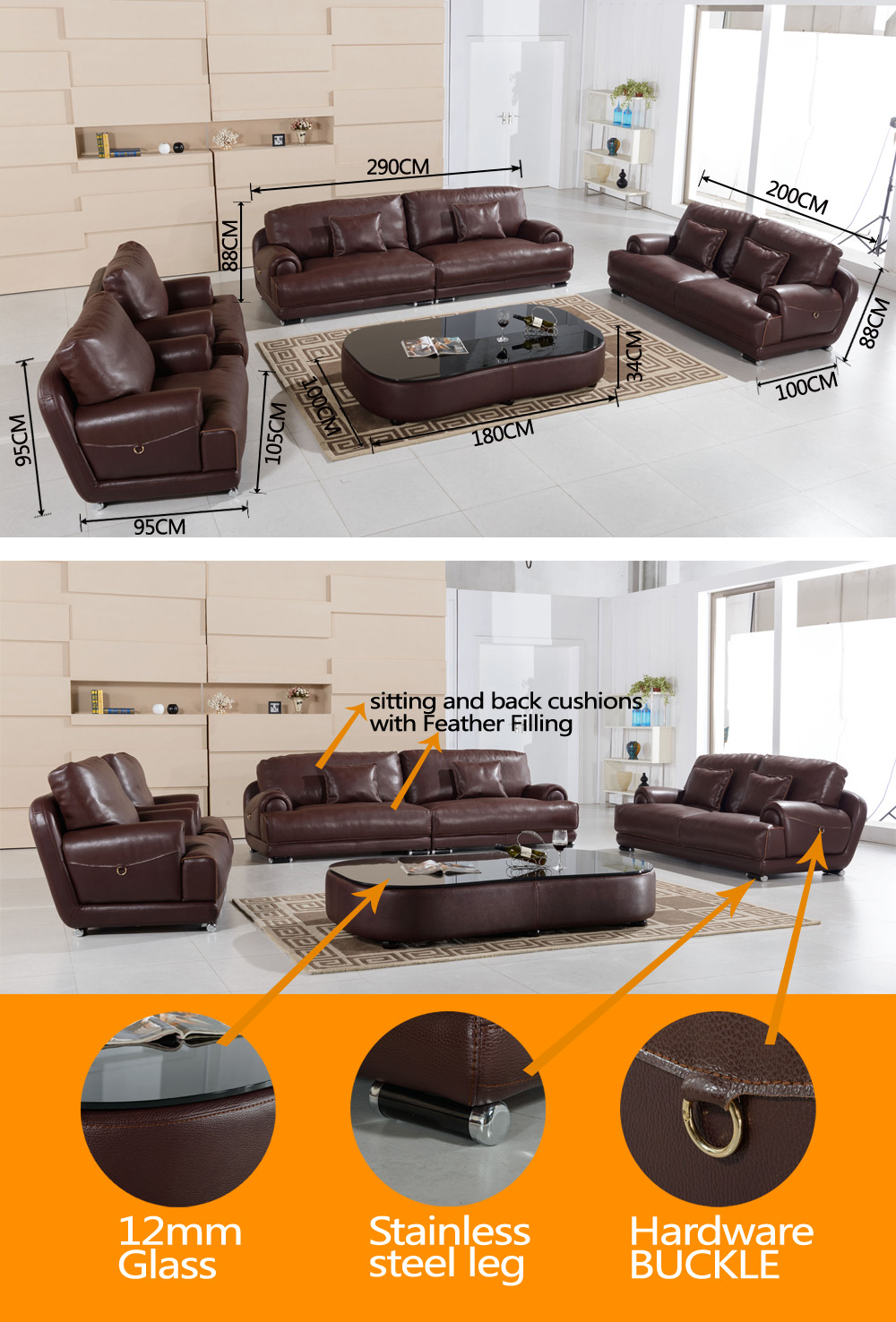 Big Sofa 290 Cm India Living Room Luxury Furniture Of Big Size Group Stanley Genuine Leather Sofa Set Buy Luxury Genuine Leather Sofa Set Living Room Genuine