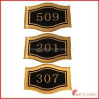 Acrylic Hotel Room Door Number Signs - Buy Hotel Door ...