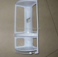 Corner Mounted Shower Caddy,Plastic Bathroom Shelf ...
