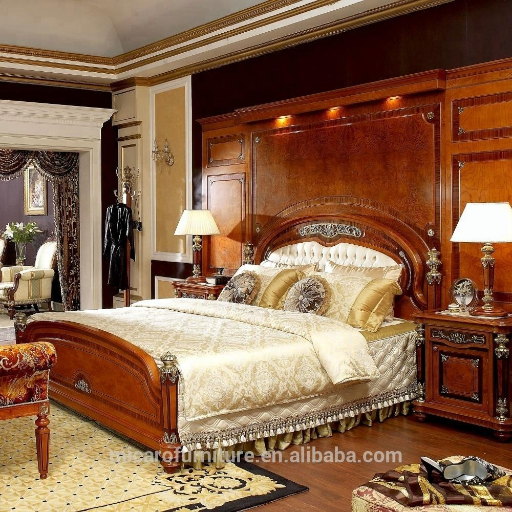 Wooden Bedroom Furniture Sets Luxury Royal Wooden Bedroom Furniture Set With King Size Bed Buy Luxury Bedroom Furniture Set Wooden Bedroom Kind Size Bedroom Product On