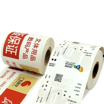 Receipt Roll Customized Pre-printed For Pos Printing Thermal Paper - printable ticket paper