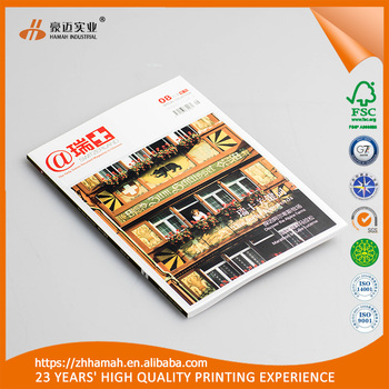 Top Selling Advertising Folded Flyer/leaflet/magazine/posters