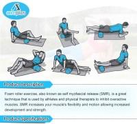 Foam Roller Lower Back Exercise Foam Roller Massage For ...